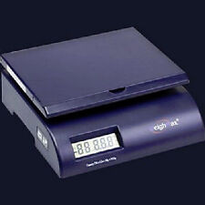 Weighmax Digital Postal Scale, 35 lb, Weighing Letters and Packages, Blue
