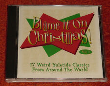 BRAND NEW FACTORY SEALED DISNEY BLAME IT IN CHRISTMAS CD FREE SHIPPING