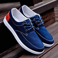 Fashion Canvas Sports Shoes Men's Casual Sneakers Driving Breathable