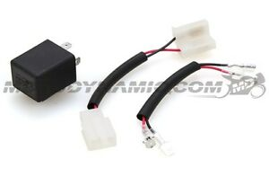 Motodynamic LED Flasher Relay with OEM Connector Fixes Fast Blink Flash Rate