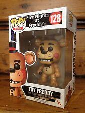 Funko Pop! Five Nights At Freddy 'Freddy #128 Exclusivo Vinilo Figura de juguete NUEVO