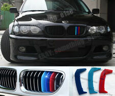 BMW 3,E46 LCI coupe,convertible Grille M 3/tri-Colour Cover/Cap/Clip/Strip/Trim
