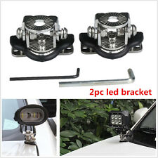 2pcs Hot Sale Led Light Bar Car Mount Bracket Holder For Offroad Stainless Steel