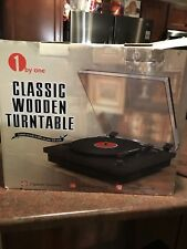 New listing Classic Wooden Turntable! Brand New! Usb And Bluetooth!