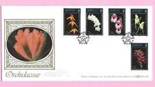 JERSEY 1993 BENHAM BLCS83b  FDC - ORCHIDS  - Shs Fdi JERSEY