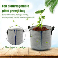 Zipper Growing Bag Vegetable Flower Aeration Planting Bucket Pot Containe