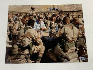 PRESIDENT GEORGE H. W. BUSH SIGNED AUTOGRAPHED 11x14 PHOTO BECKETT BAS #A55741