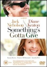 SOMETHING'S GOTTA GIVE (Jack NICHOLSON Diane KEATON) DVD Region 4 Somethings