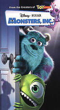 Monsters, Inc. (VHS, 2002, Clam Shell)