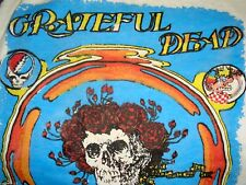 Vtg GRATEFUL DEAD Pyschedelic Grateful Life Comeback Tour T-Shirt Red Cross