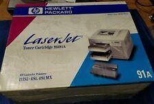 GENUINE HP 91A Black Toner Cartridge (HP 92291A) Laserjet 3Si 4Si NEW SEALED