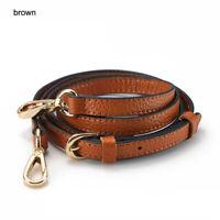 1.2*130cm Luxury crossbody straps replacement genuine leather Liche bag strap A+