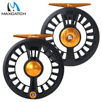 Maxcatch Tail 3/4 5/6 7/8wt Super Light Fly Fishing Reel Large Arbor Waterproof