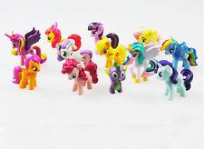 HOT My Little Pony  The Cute Action Figure 12pcs  PVC Figures Set Collection