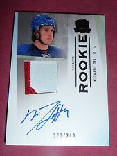 09-10 The Cup MICHAEL DEL ZOTTO Auto Patch RC 229/249 Nice Card L@@K