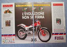 MOTOSPRINT989-PUBBLICITA'/ADVERTISING-1989- FANTIC MOTOR 305