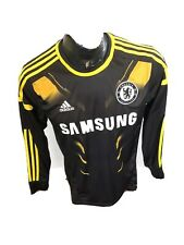 MENS Small Adidas Soccer Football  Long Sleeve Jersey Chelsea Football Club