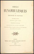 Théodore de BANVILLE - ODES FUNAMBULESQUES - 1859