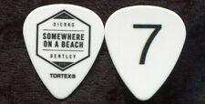 Dierks Bentley 2016 Beach Tour Guitar Pick! Dierk's custom concert stage Pick