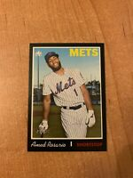 2019 Topps Heritage - Amed Rosario - #498 Black Border Parallel /50 made