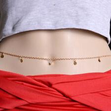 Mehrschichtige Quasten Körperkette Brustkette Körperschmuck Bikini Kette
