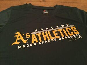Oakland athletics MLB youth majestic small dryfit style shirt
