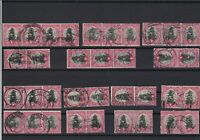 south africa used stamps blocks good cancels ref 13680