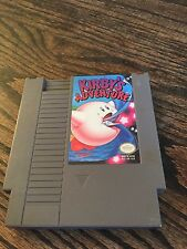 Kirby's Adventure Original Nintendo NES Cart Works NE4
