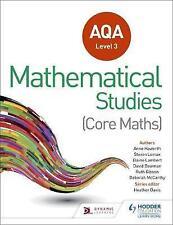 AQA Level 3 Certificate in Mathematical Studies by Elaine Lambert, Steve...