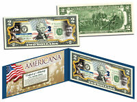 BABE RUTH - Americana - Genuine Legal Tender US $2 Bill Officially Licensed