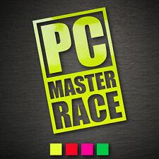 14069 pc Master race autocollant 148x95mm NEON reddit dégénèrent Geek OEM JDM Dub