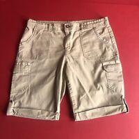 Jones New York Sport Shorts Womens Size 10 Color Khaki. 0435