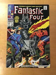 Fantastic Four #80 VF+ 8.5 1968