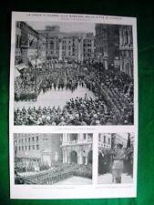 Nel 1920 Vicenza croce di guerra gen. Giraldi +Corradini Porzio Bellotti Sitta