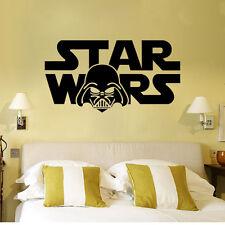 56x30cm Star Wars New Vinyl Movie Themed Wall Sticker Kids Boys Decoration