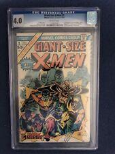 Giant Size X-men 1. CGC 4.0