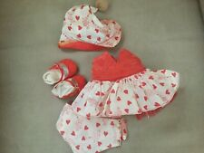Terri Lee Doll Clothing Cupds and Hearts  Masquerade Outfit Tagged