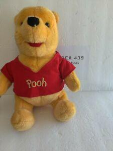 "Winnie The Pooh Talking Plush Mattel Vintage 1994 Bear Stuffed Animal Toy 15"""