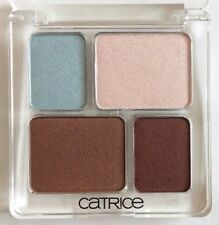 Catrice Quad Eyeshadow 050 Twinkle In The Eye Bronze Choc Taupe Pink Blue Nude