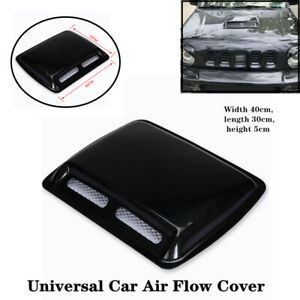 Large Auto Car Engine Hood Air Flow Inlet Vent SUV Front Grille Universal Cover