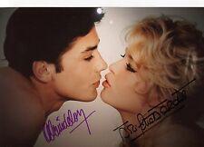 Brigitte Bardot & Alain Delon - orig.Signierungen auf schönem tollen Großfoto 2