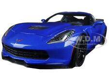 2016 CHEVROLET CORVETTE C7 Z06 LAGUNA BLUE TINCOAT 1/18 BY AUTOART 71265