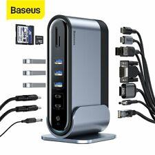 Baseus USB C HUB 16 In 1 Type C To PD RJ45 VGA 4K HDMI Adapter Docking Station