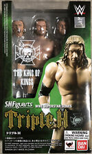 Bandai SH Figuarts WWE Series Triple H NIB Action Figure Collectors Toy The Game