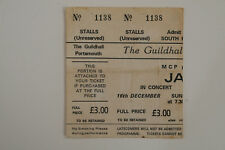 THE JAM - GENUINE CONCERT TICKET - GUILDHALL, PORTSMOUTH - 12TH DECEMBER 1979
