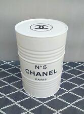 """Tonneau Baril Fût de Décoration  Blanc """"Chanel N 5""""  25L"""