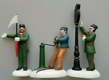 Department 56 Dickens' Village Busy Railway Station #58464 Set/3 New! Retired 💖