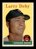 1958 Topps Set Break # 424 Larry Doby EX-MINT *OBGcards*