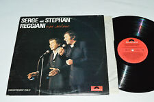 SERGE et STEPHAN REGGIANI En Scene Enregistrement Public LP 1975 Polydor Canada