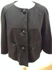 Asos women's black 3/4 length sleeve jacket size 14